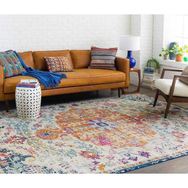 Caressa Bright Vintage Boho Area Rug - 9'3' x 12'6'