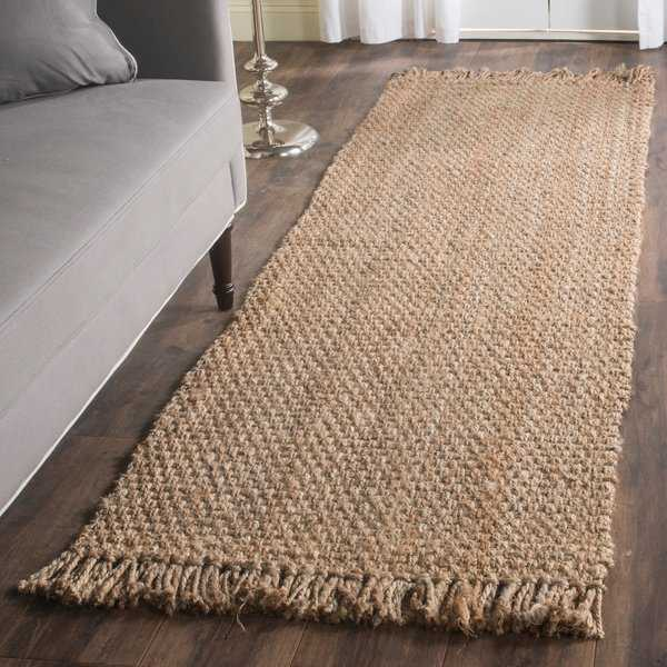 Safavieh Casual Natural Fiber Hand-Woven Natural Jute Rug - 2'6' x 8'