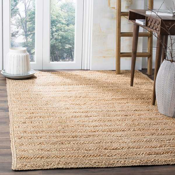 Safavieh Natural Fiber Coastal Geometric Hand-Woven Jute Natural Area Rug - 8' x 10'